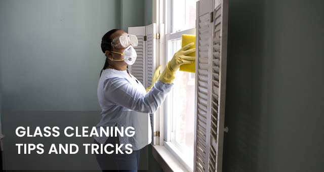 find glass cleaning tips and tricks
